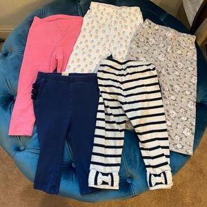 Bundle of 12-18 months leggings